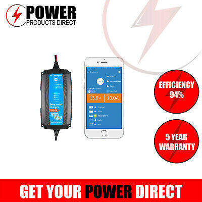 Victron 12V 15A Ip65 Smart Battery Charger - Bluetooth Control - Lithium Ready
