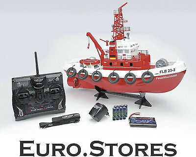 Carson FLB 23-3 RC Fire Boat With Water Canon 1:50 500108005 Genuine New