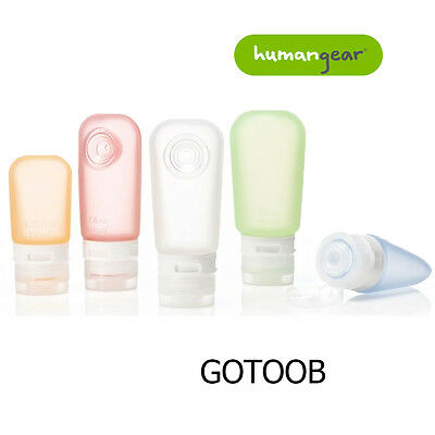 Humangear Go Toob Silicone Squeeze Liquid Tub Travel Bottles Camping Holiday