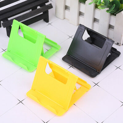 Universal Folding ABS Charming Holder Stand Mount For iPhone iPad Tab Tablet PC