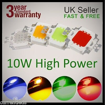 10W LEDs 12V Chips Hydroponic Aquarium grow lights SMD COB High Power 1 5 and 10