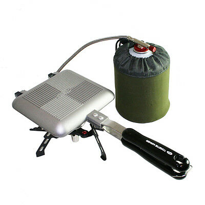 NGT  Toastie maker Sandwich Gas stove & Gas Cover Carp Fishing!!! Camping***