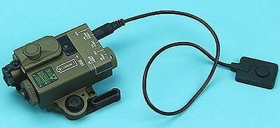 G&P Compact Dual Laser Destinator (GP-LSP007SD) For Airsoft Toys (Sand)