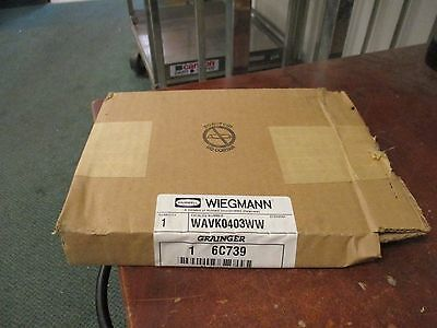 Wiegmann Louver Plate Kit WAVK0403WW New Surplus