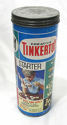 Vintage Starter Tinkertoy And Tin Questor #116