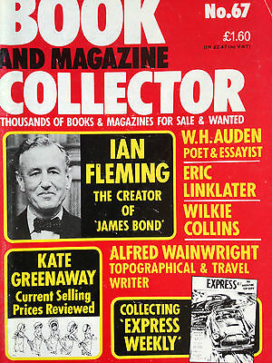 BOOK + MAGAZINE COLLECTOR No.67 feat..IAN FLEMING / KATE GREENAWAY / W.H.AUDEN