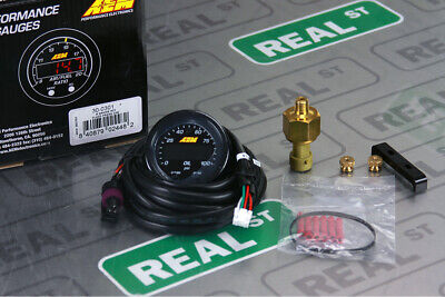 AEM X Series Oil Fuel Pressure Gauge 0-100 psi Black/Black 30-0301