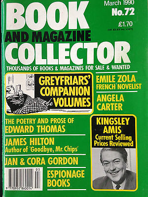 BOOK + MAGAZINE COLLECTOR No.72 feat..KINGSLEY AMIS / GREYFRIARS COMPANION VOL,S