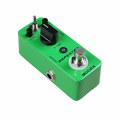 New Mooer Repeater Digital Delay Micro Guitar Effects Pedal