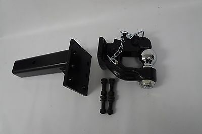 "1-7/8 ball Pintle Hook W/ adjustable Pintle receiver 2-1/2"" shank Combo"