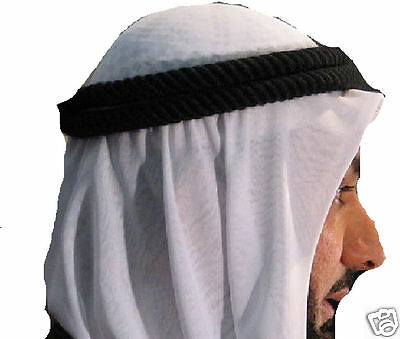 Authentic and NEW Arab Head Shemagh Kafiya Agal (AGAL ONLY)
