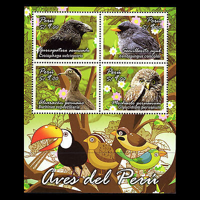 Peru 2014 - Birds Fauna Animals - Sc 1862 MNH