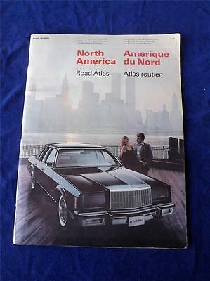 Rolph Mcnally Road Atlas Maps Vintage North America Canada Usa City Maps