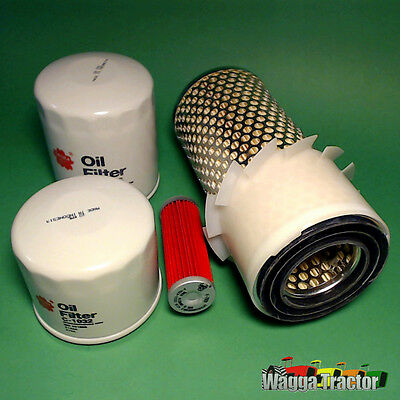 FLK5217-C Oil Fuel Air HST Filter Kit Kubota B6100 B6200 Tractor & B7100 B7200