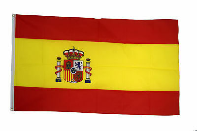Spain Flags & Bunting - 5x3' 3x2' & Giant 8x5' Spanish Table Hand - Euro 2016