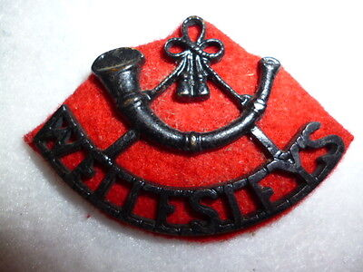 104th Wellesley's Rifles Regiment Shoulder Title - Colonial India WW1