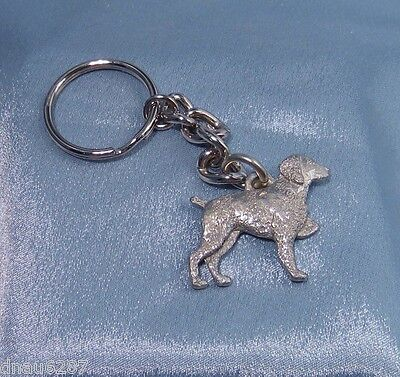 Brittany Key Chain Fine Pewter by GG Harris