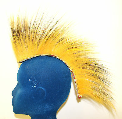 "Yellow Porcupine Dancing Head Roach - 11"" Out - Handmade"