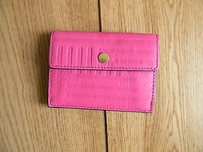 Kate Spade Saturday Pink Leather Card Holder RN0102760