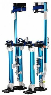 "BLUE Pentagon Tools 1121 Drywall Stilts 24"" to 40"" Height"