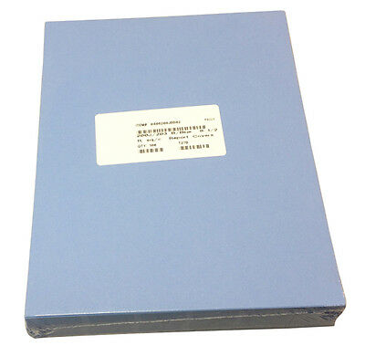 100p 8.5x11 Presentation Covers 12pt leather finish paper Report Cover,bold blue