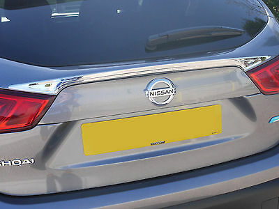 Chrome Stainless Steel Rear Door Grab Handle Cover for Nissan Qashqai (2014 on)