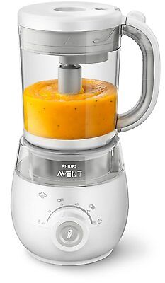 Philips AVENT SCF875/01 4-In-1 Healthy Baby Food Maker Steam Blender.New in Box