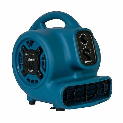 XPOWER P-260AT 1/5HP Portable Scented Pro Mini Air Mover Blower Carpet Dryer Fan