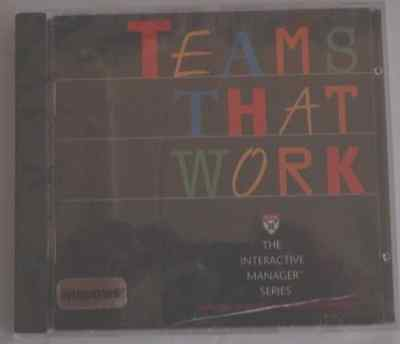 Teams that Work [CO_ROM WIN 95/PowerMac] by Anne Donnellon, Harvard Business Sch