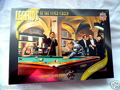 Legends of the Silver Screen Puzzle Marilyn Munroe James Dean 3 Stooges SEALED
