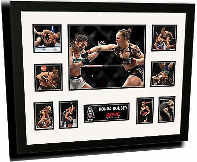 Ronda Rousey Signed Limited Edition Framed Memorabilia