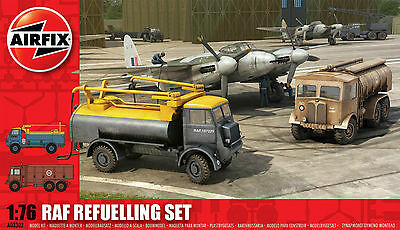 Airfix RAF Set of 3 1:76 Refuelling, Emergency & Recovery Sets.