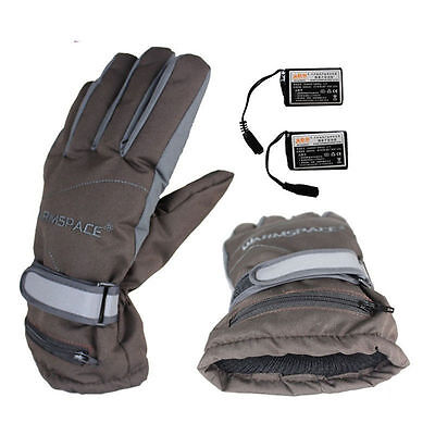 Rechargeable Battery Powered Heated Winter Warmer Outdoor Work Motorcycle Gloves