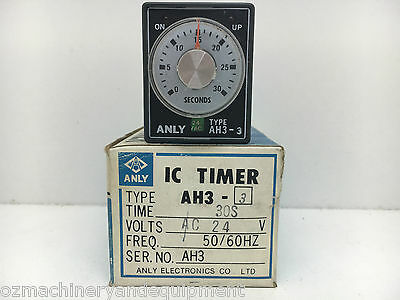 ANLY AH3-3 24V Time Delay timer