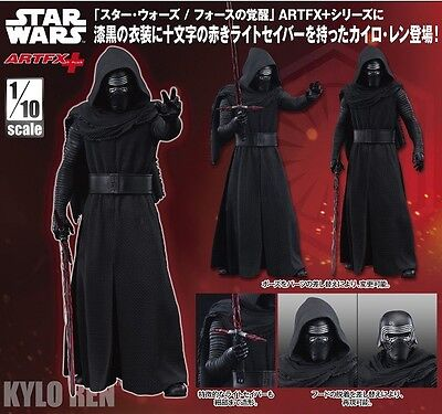 Kotobukiya ARTFX+ Star Wars Kylo Ren 1/10 scale PVC painted simple assembly fig