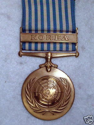 The United Nations Korea Medal - British Issue