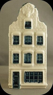 KLM Blue Delft Miniature House Decanter #72 Made for KLM By Bols Distilleries