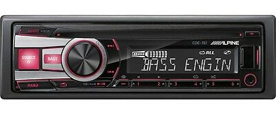 DEAL!! Alpine CDE-151 CD Receiver - WMA/MP3/ACC - 50 Watts x 4 - Brand New