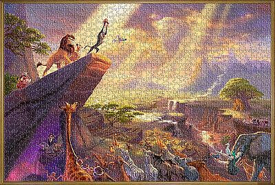 Disney Jigsaw Puzzle The Lion King Toys Hobbies Plays Wall Kids Movie 1000 pcs