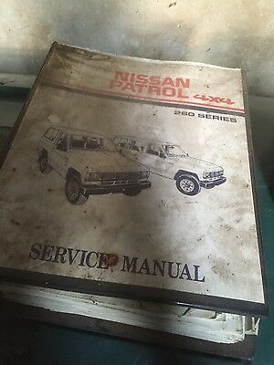 Nissan Patrol 4x4 260 Series Service Manual