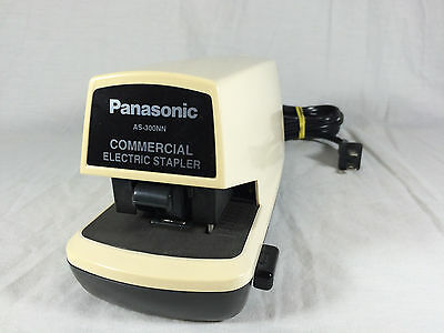staplers desk accessories office supplies office business rh picclick com panasonic commercial electric stapler as-300 manual panasonic as-300nn commercial electric stapler manual