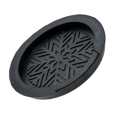 """Soundhole Sound Hole Cover Block Buster for Acoustic Guitar 41""""/42"""" Rubber Black"""