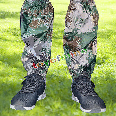 Waterproof Walking/Hiking Gaiters Camouflage Boot Covers New