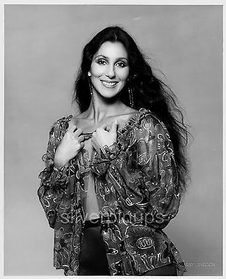 Orig 1970's CHER Disco Glamour.. FASHION Portrait by HARRY LANGDON