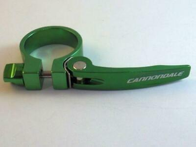 Cannondale Seatpost Clamp - Road/Mountain/City/Folding 34.9mm - Green