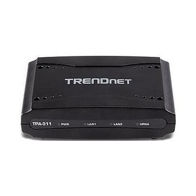 TRENDnet TPA-311 Mid Band Media Converter 2 x F-Type Network 2 x RJ-45 Network