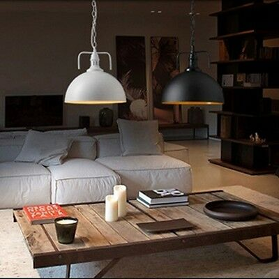 VINTAGE INDUSTRIALE RETRO Loft Lampadario Camera da Letto Massimale ...