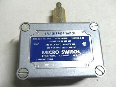 (M4) 1 New Microswitch Op-Q Snap Switch
