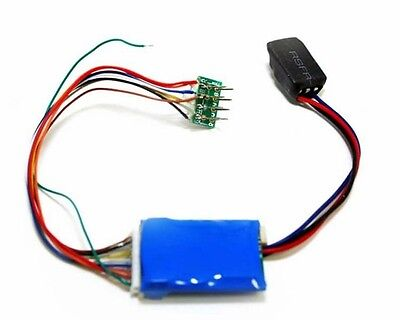 MRC HO 1731 DCC 16-Bit Sound Decoder Steam Sounds 8/9 Pin Harness Plug-in