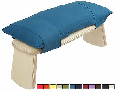 CalmingBreath Meditation Cushion For Yoga Bench / Stool Natural Cotton